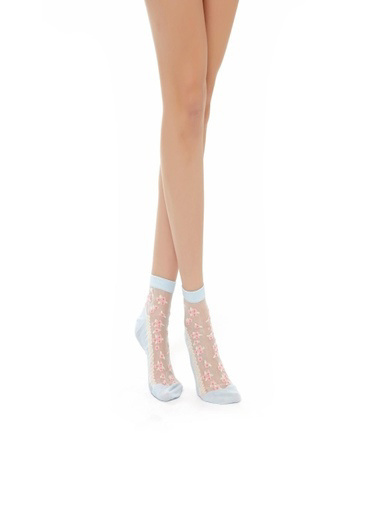 Katia & Bony Rustıc Kadın Patik Çorap  Mavi